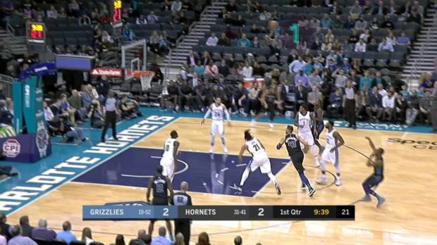GAME RECAP: Hornets 140, Grizzlies 79