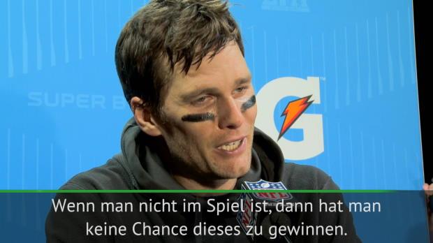 """Brady: """"Nicht geschafft, Spiel zu kontrollieren"""""""