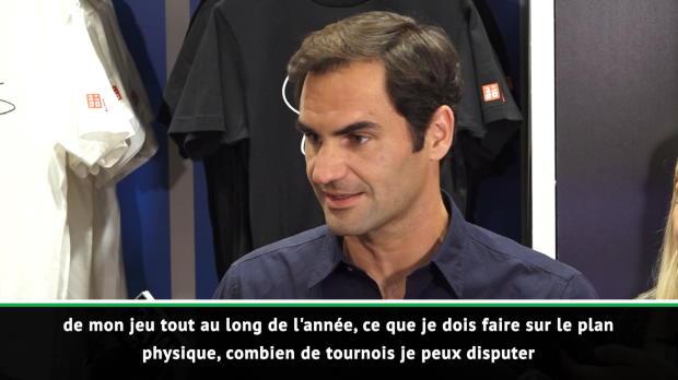"Basket : Open d'Australie - Federer - ""Passer plus de temps en famille en 2019"""