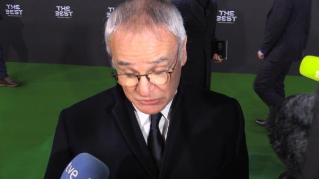 Football Awards: Ranieri überglücklich
