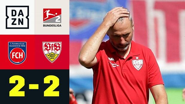 1. FC Heidenheim 1846 - VFB Stuttgart   DAZN Highlights