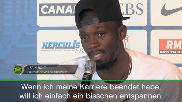 Bolt mit Bauch? Sprintstar wettet gegen Team