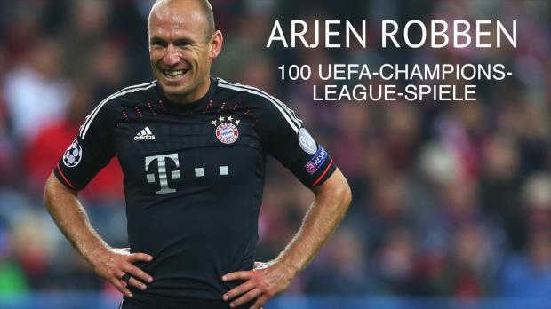100 Spiele: Robben-Meilenstein in Königsklasse