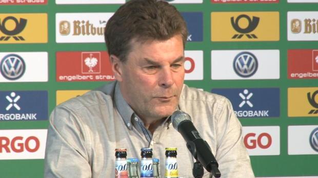 """Hecking: """"Halbfinale wird im Kopf entschieden"""""""