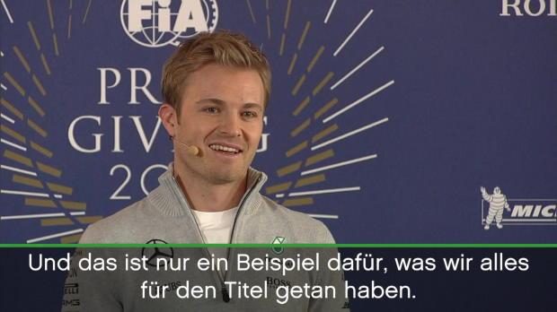 F1: Rosberg: Titel für Vater und Familie