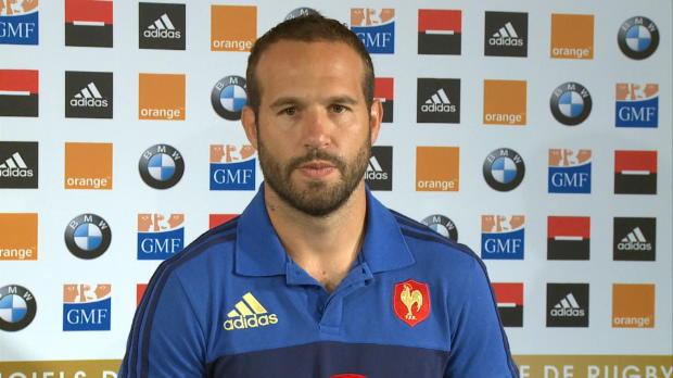 XV de France - Michalak - 'Des fourmis dans les jambes'