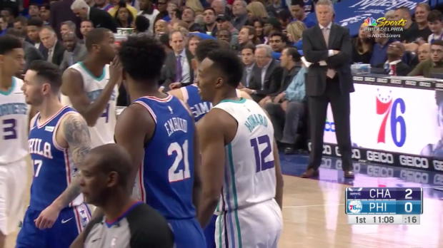 WSC: Joel Embiid (25 points) Highlights vs. Charlotte Hornets