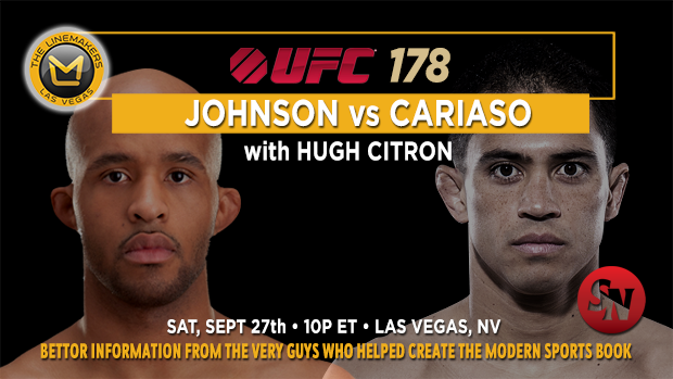 UFC 178 Johnson Vs. Cariaso