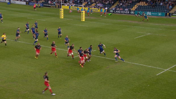 Aviva Premiership - Niall Annett's Run Against Saracens
