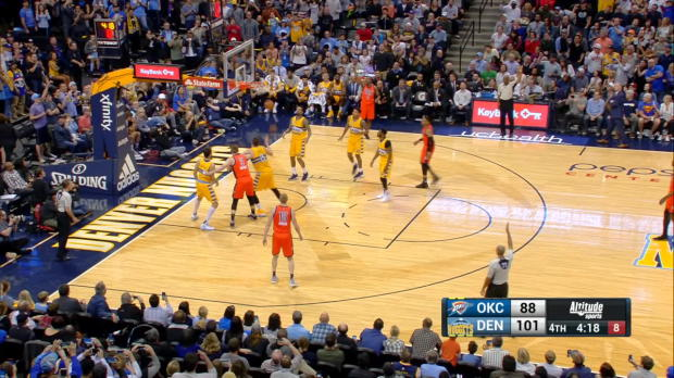 Assist of the Night - Rusell Westbrook