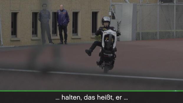 Motorrad: Rekord! 500 Kilometer auf einem Rad