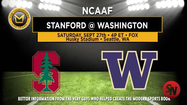 Stanford Cardinal @ Washington Huskies