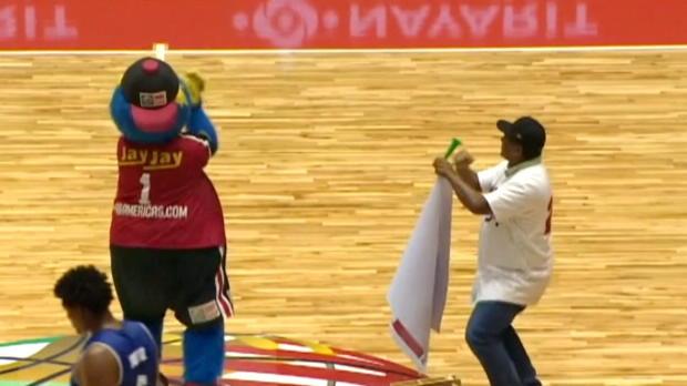 Centrobasket: Der Maskottchen-Flitzer-Dance