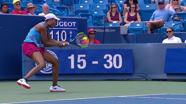 Cincinnati: Venus Williams mit kurzem Prozess