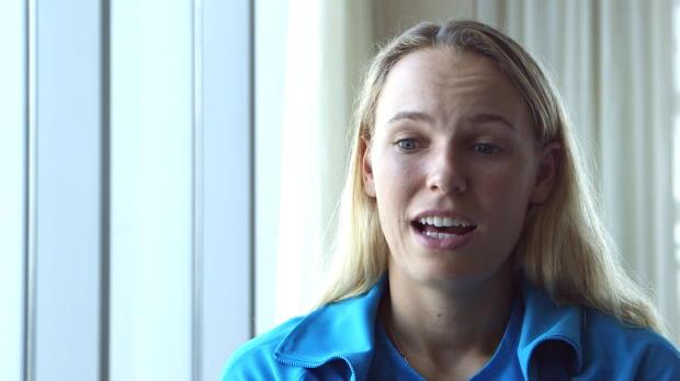 L1 : NEWS - Wozniacki - ''Le tennis f�minin est tr�s comp�titif''