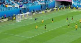 A second half penalty from Mark Milligan helped the Caltex Socceroos secure a 1-1 draw with Cameroon at the FIFA Confederations Cup.