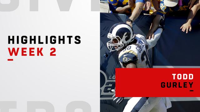 Todd Gurley highlights | Week 2