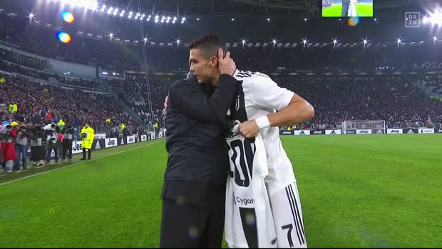 Serie A: Juventus - Cagliari   DAZN Highlights
