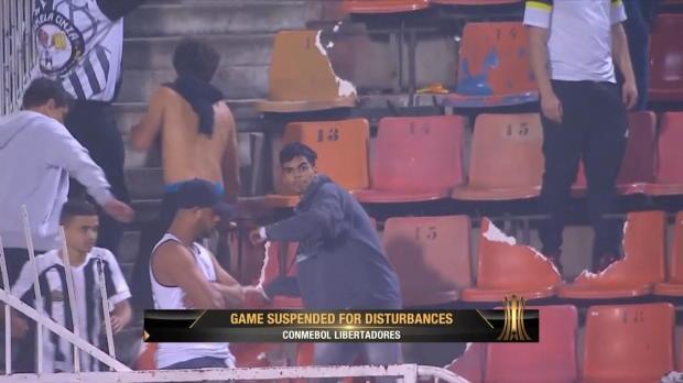Copa Libertadores: Spielabbruch nach Randalen