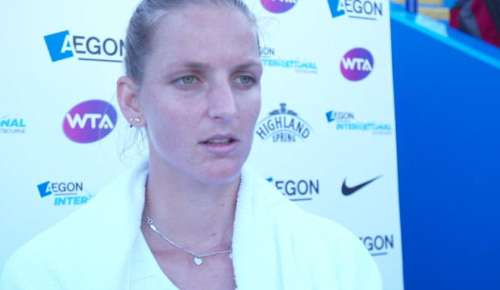 Pliskova Interview: WTA Eastbourne SF