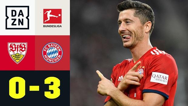 Bundesliga: VfB Stuttgart - FC Bayern München | DAZN Highlights