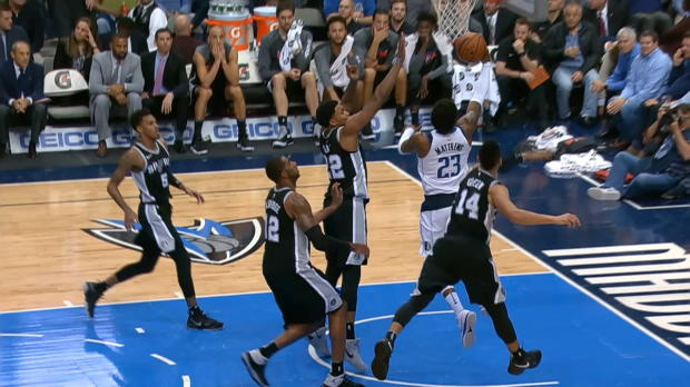 Block of the Night: Rudy Gay