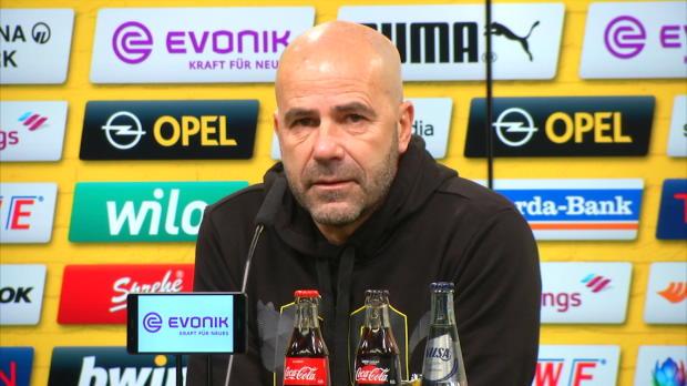 Bosz: Müssen glücklich sein mit Europa League