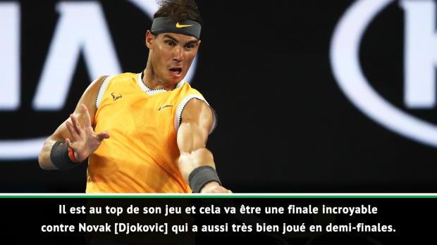 """Basket : Open d'Australie - Leconte promet """"une finale incroyable"""" entre Nadal et Djokovic"""