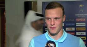 Caltex Socceroos Brad Smith, Mathew Leckie and Mat Ryan discuss the win over UAE.