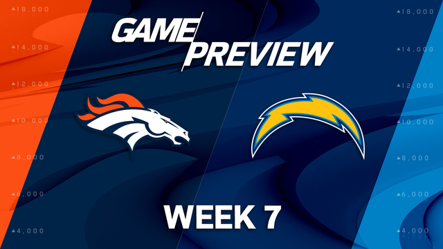 Denver Broncos vs. Los Angeles Chargers preview | 'NFL Playbook'