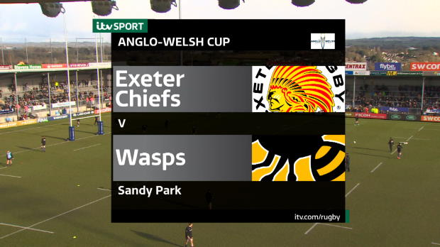 Aviva Premiership - Match Highlights:Exeter Chiefs v Wasps