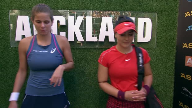 WTA Auckland: Finale