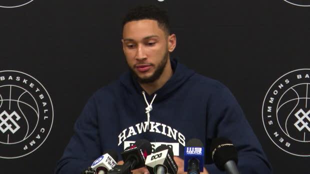 "Basket : Sixers - Ben Simmons - ""Une grosse marge de progression"""