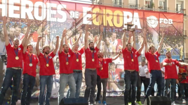 EM 2015: Spaniens Helden frenetisch bejubelt!