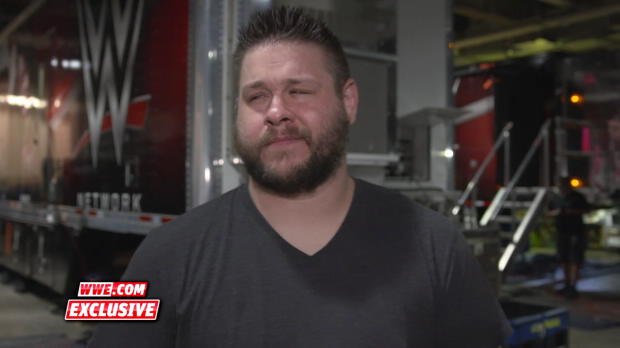 Kevin Owens takes a walk when asked about his fear of Braun Strowman: WWE.com Exclusive, Aug. 19, 2018