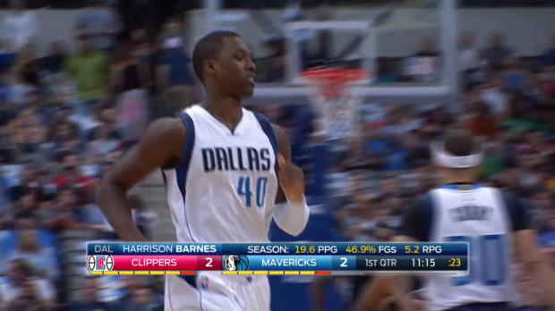 WSC: Highlights: Harrison Barnes (21 points) vs. the Clippers