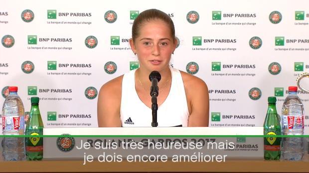 : Roland-Garros - Ostapenko - 'J'aimerais bien gagner tous les Grands Chelems'