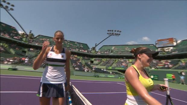 Miami: Kristyna Pliskova mit lockerem Start