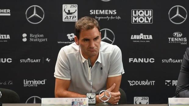 """Stuttgart: Federer: """"Wimbledon das große Ziel"""""""