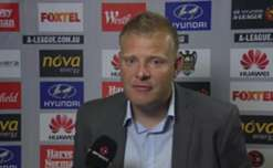 Adelaide United coach Josep Gombau speaks to the media after his sides 2-1 loss to Wellington Phoenix.