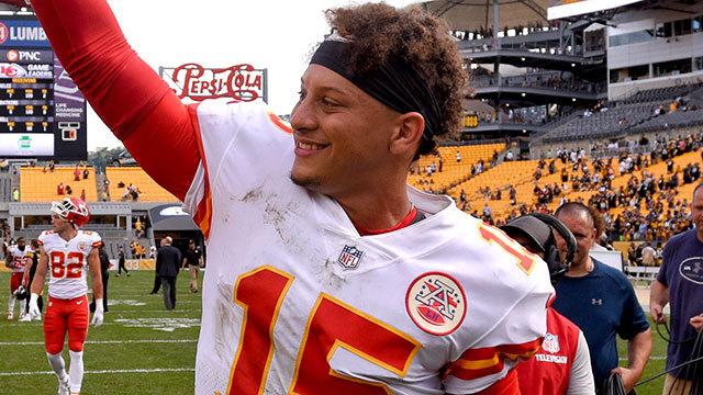 Peter Schrager: Kansas City Chiefs quarterback Patrick Mahomes is 'runaway' MVP so far