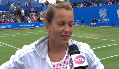Strycova Interview: WTA Birmingham SF