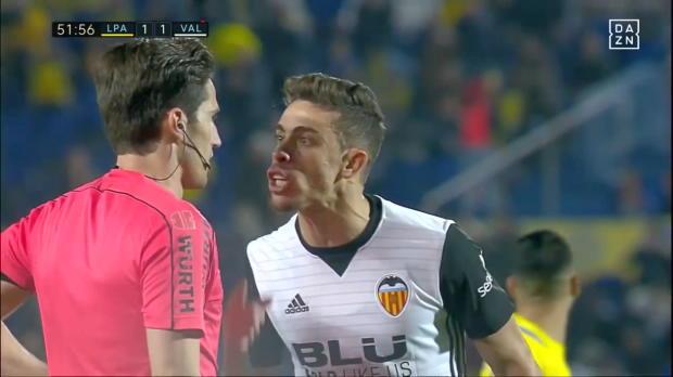 La Liga: Gabriel mit unnötiger Ampelkarte