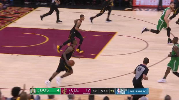 WSC: LeBron James (27 points) Highlights vs. Boston Celtics