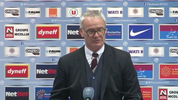 L1 - ASM, Ranieri : '5 points de perdus en 2 matches'