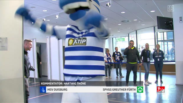 2. Bundesliga: MSV Duisburg - SpVgg Greuther Fürth | DAZN Highlights
