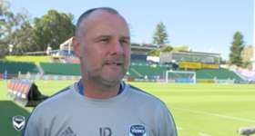Hear from assistant coach Jean-Paul de Marigny ahead of Saturday night's match against Perth Glory at nib Stadium.