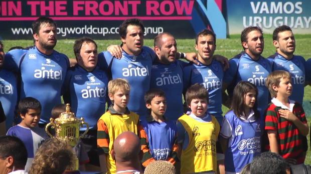 Mundial Inglaterra 2015 - Mújica homenajea a Uruguay, los únicos amateur del torneo