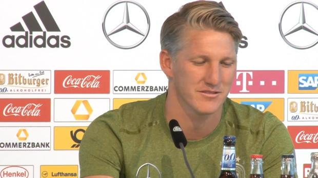 """Schweinsteiger: """"Fußball geliebt, außer 2012"""""""