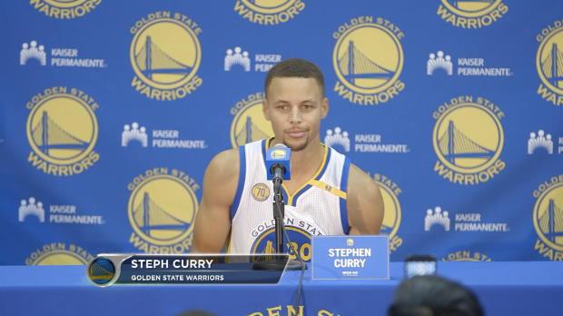 """Curry: """"Las expectativas est�n muy altas"""""""